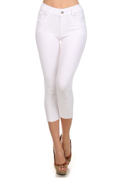 Capri Jegging White