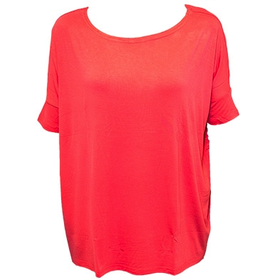 Short Sleeve Tunic Coral