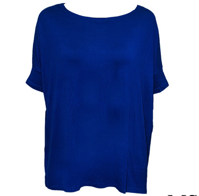 Short Sleeve Tunic Royal