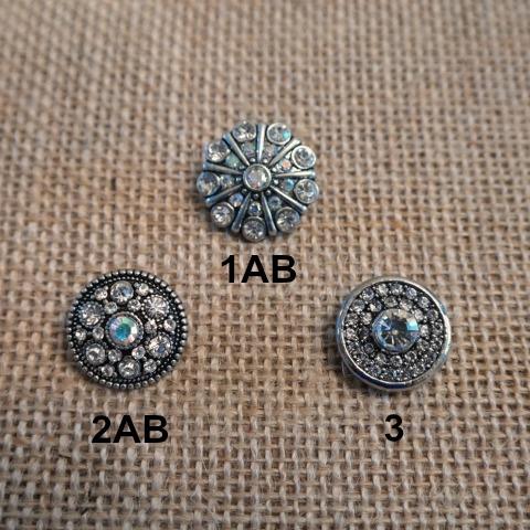 Vintage Crystal Snaps