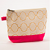 Cayman Glamour Cosmetic Bag Pink/Gold