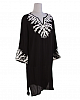 Coral Reef Cover Up Tunic Black