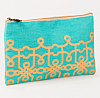 Florence Glamour Cosmetic Bag in Mint