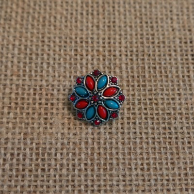 Turquoise Red Snap